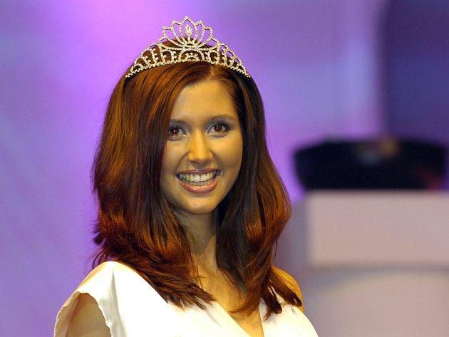 Lucie Blažková - vítězka Miss Europe Junior 2007 ze Starého Hradiště na Pardubicku.