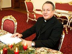 Královéhradecký biskup Jan Vokál. Ilustrační fotografie.