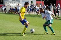 Fotbalový Pohár FAČR: FC Olympia Hradec Králové - SK Benešov.
