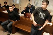 Jaroslav Svoboda, Libor Šimon, Richard Musil a Dušan Šeděnka stanuli před Krajským soudem v Hradci Králové.