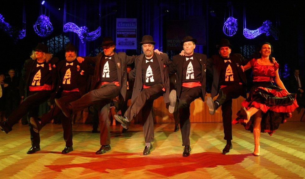 Mediální ples v Kongresovém centru Aldis v Hradci Králové.