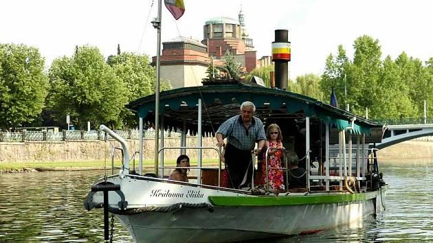 Hradecké parníky - lákadlo pro turisty i místní