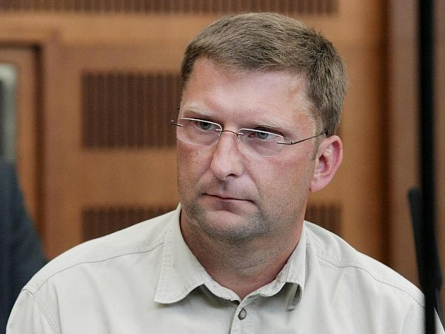 Petr Kopecký, obžalovaný ze spáchání zpronevěry a podvodu.