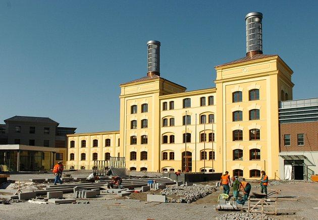 Nový pivovar, budoucí sídlo Královéhradeckého kraje