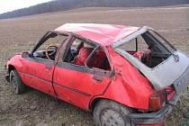 Nehoda u Vysoké nad Labem