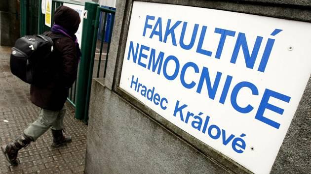 Fakultní nemocnice Hradec Králové.
