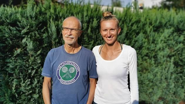 Pavel Smitka s dcerou Terezou