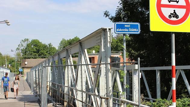 Na jaře příštího roku se má začít s  výstavbou nového mostu plukovníka Šrámka.