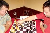Klání v šachu na Chlumu. Ilustrační fotografie.