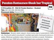 Penzion-Restaurace-Steak bar Tropical