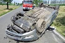 Dopravní nehoda na Náchodsku způsobená mikrospánkem