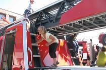 Den otevřených dveří u královéhradeckých hasičů.