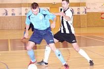 Futsal - II. liga, západ: Salamandr Hradec Králové - Boca Chotěboř.