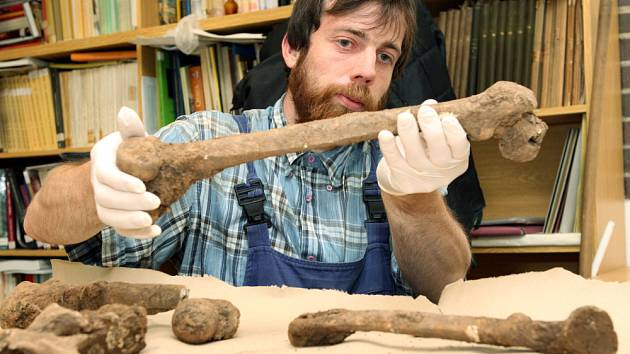Archeolog hradeckého muzea Radek Bláha. Ilustrační foto