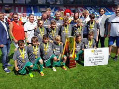Žáci ze ZŠ Sever Hradec Králové ovládli 20. ročník fotbalového McDonald's Cupu.