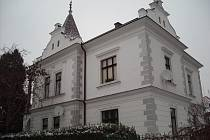 Vila Morušovka v Hradci Králové, stavba architekta Václava Rejchla staršího.