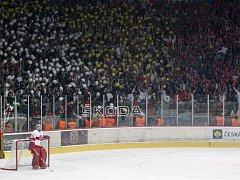 Hokejová extraliga: Mountfield HK - HC ČSOB Pojišťovna Pardubice.