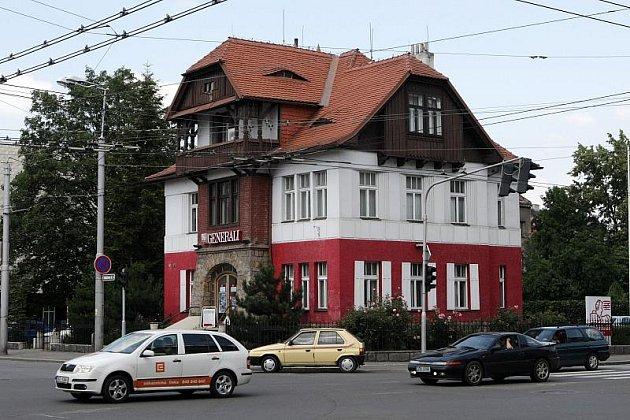 Vila Anička v Hradci Králové.