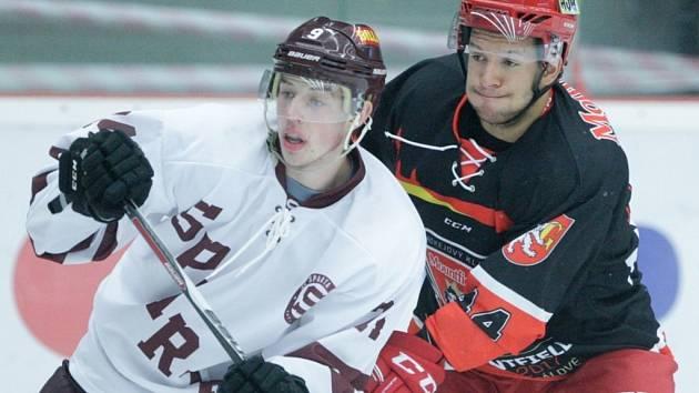 Hokejový Mountfield Cup: Mountfield HK - HC Sparta Praha.