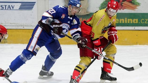 I. hokejová liga: Královští lvi Hradec Králové - HC Stadion Litoměřice.
