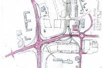 Lokalita Mileta - alternativní dopravní řešení.