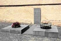 Pochmurná momentka z památníku Terezín.