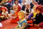 Dětský denní rehabilitační stacionář - aktivity v roce 2013: karneval.