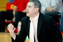 Trenér hradeckých basketbalistek Miroslav Volejník.