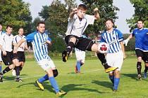 Fotbalový Votrok okresní přebor: TJ Sokol Lovčice - FK Chlumec nad Cidlinou C.