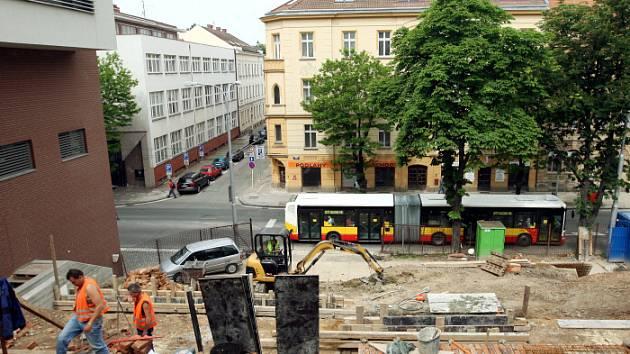 Rekonstrukce schodiště Kozinka