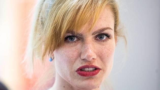 Biatlonistka Gabriela Koukalová.