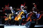 Vystoupení Queen Symphonic na Všesportovním stadionu v Hradci Králové.