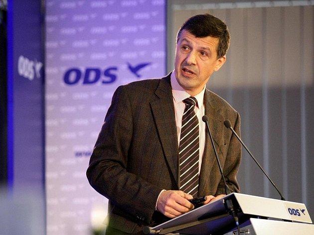 Oldřich Vlasák na ideové konferenci ODS.