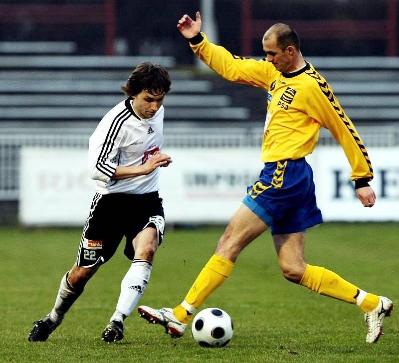 Fotbal, II. liga: FC Hradec vs. Jihlava (22. března 2009)
