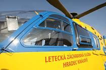 Příprava vrtulníku