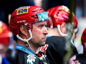 Generali play off hokejové Tipsport extraligy - 1. čtvrtfinále: Mountfield HK - Bílí Tygři Liberec.