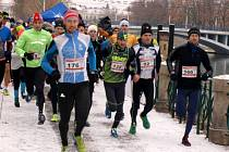 Mikulášský vodácký půlmaraton - závod dospělých.