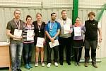 Badmintonový turnaj v rámci oslav 70. výročí založení Sportovního klubu neslyšících Hradec Králové.
