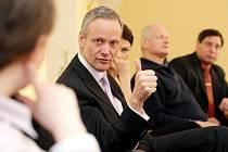 Cyril Svoboda zahájil svou volební kampaň v Královéhradeckém kraji