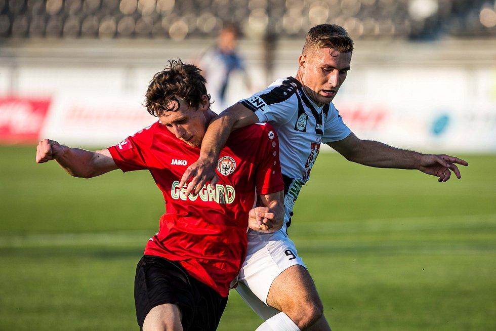 Fotbalová FORTUNA:NÁRODNÍ LIGA: FC Hradec Králové - MFK Chrudim.