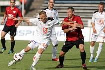 Fotbalová národní liga: FC Hradec Králové - FC MAS Táborsko.