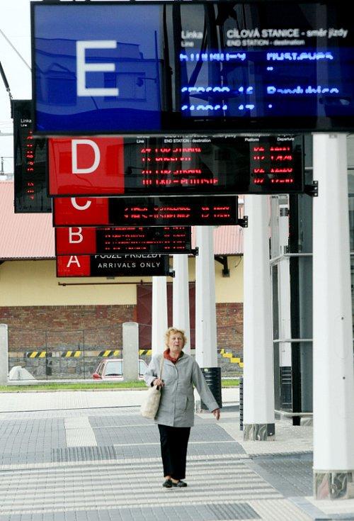 Terminál hromadné dopravy v Hradci Králové