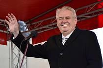 Miloš Zeman v Náchodě