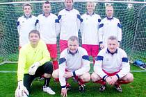 Šampioni z mužstva FC Nový Hradec Králové.