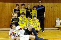 Vítězný tým fotbalového halového turnaje mladších žáků Slavia Cup 2012 – FK Chlumec nad Cidlinou.