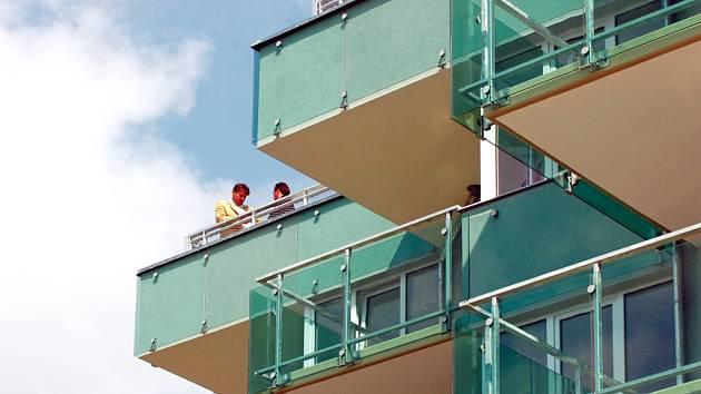 Bytová výstavba v hradecké Třebši