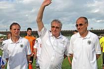 Zleva Michal Šmarda, Petr Uličný a Václav Kotal.