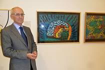 Grafiky laureátů ceny Vladimíra Boudníka jsou do 17. listopadu k vidění v přízemním vestibulu královéhradecké galerie moderního umění na Velkém náměstí.