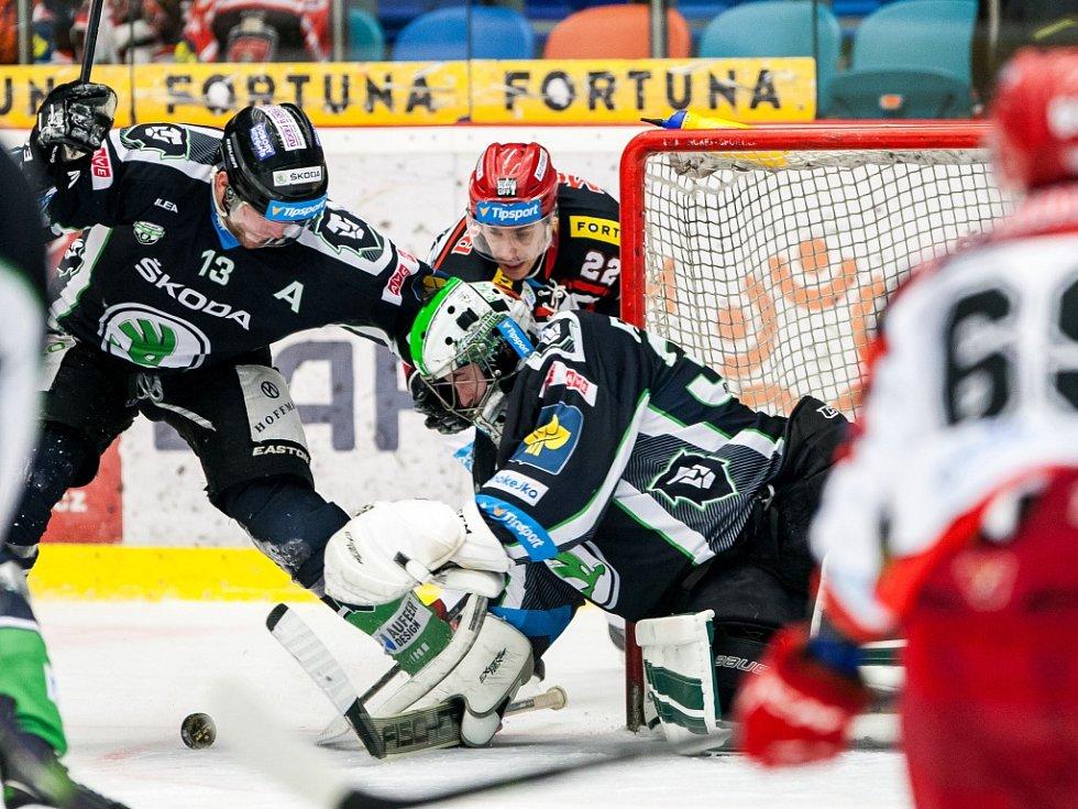 ecdf56d16f20b Hokejová extraliga - čtvrtfinále play off: Mountfield HK - BK Mladá  Boleslav.