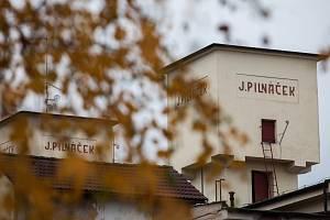 Pilnáčkova továrna v Hradci Králové.